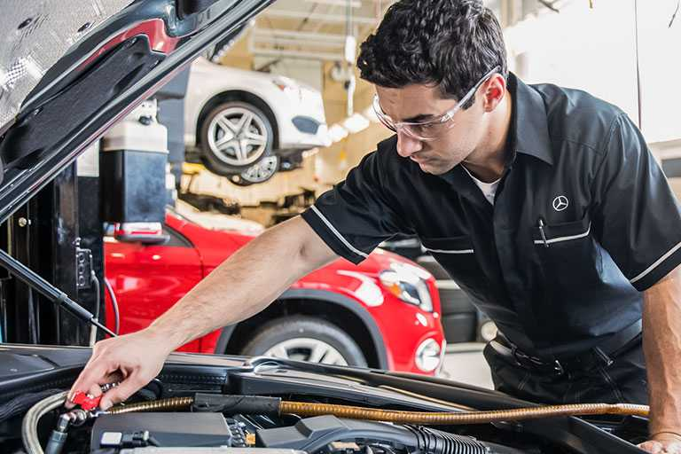 Mercedes Benz Automotive Technician