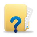 folder with question mark - Request Information